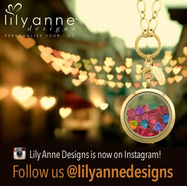 Lily Anne Designs is now on Instagram!   Make sure you post your beautiful lockets and tag us @Lily Morello Anne Designs or #lilyannedesigns for your pic to get noticed!