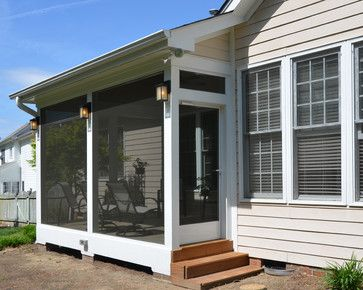 Screened Porch Ideas - traditional - porch - raleigh - Blue Ribbon Residential Construction, Inc.