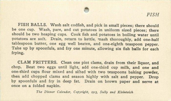 Fish balls, Clam Fritters - Recipe | Recipe