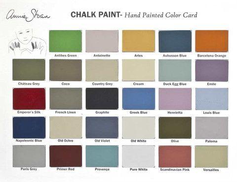 Chalk Paint™ Color Card