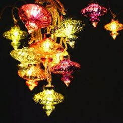 Kasbah Moroccan String Light Chain LED Fairy Lights