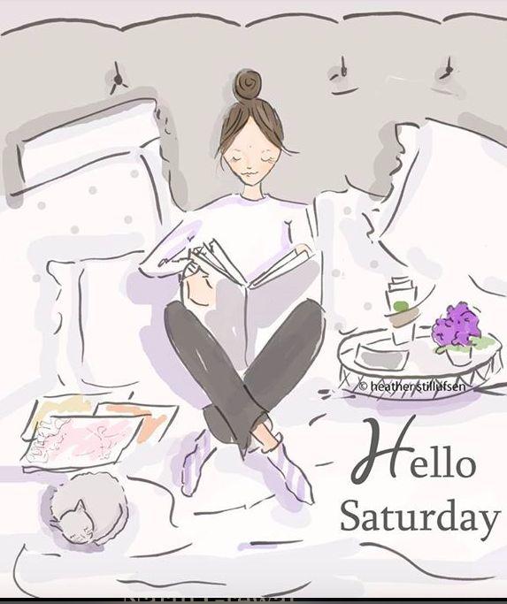 Hello Saturday ...