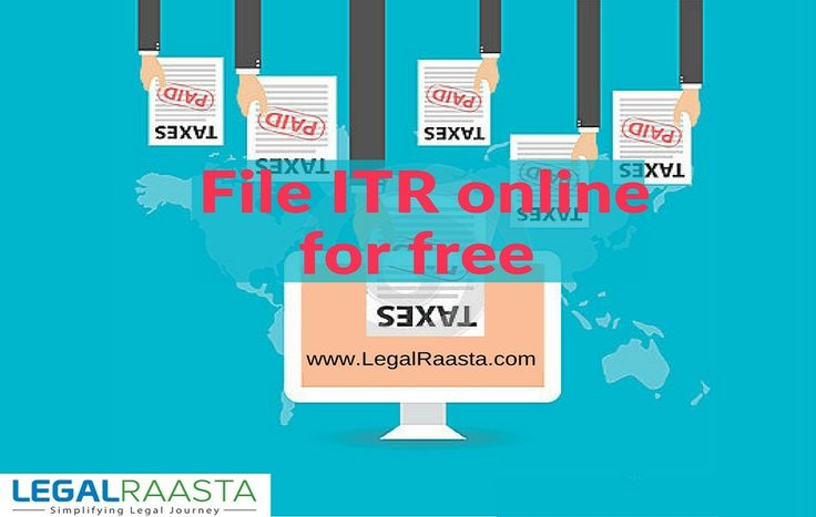 File your Income tax return #ITR online in India for FREE!! #LegalRaasta is India's easiest and most reliable site to file #income #tax #returns online  #ITROnline #IncomeTaxReturn #LegalRaasta #ITRefilingfree #ProfessionalTax