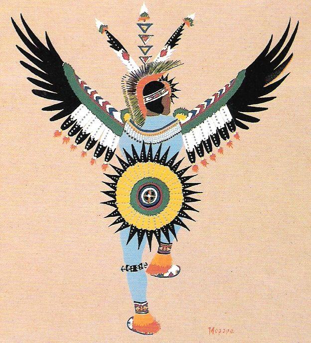 1929 Dancers | Eagle Dance, 1929. Stephen Mopope..jpg