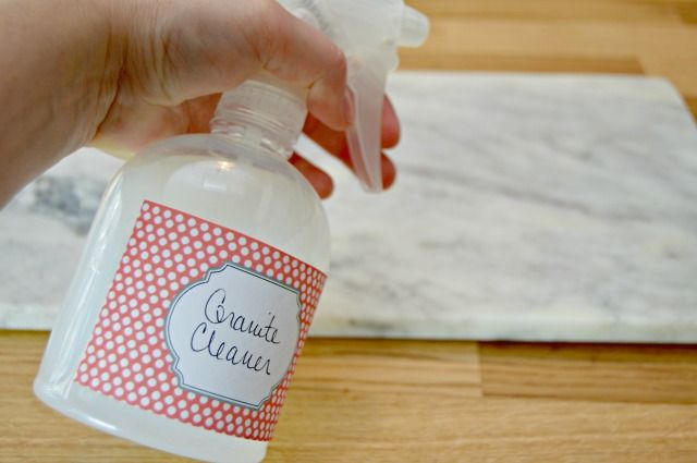 1000 Ideas About Homemade Granite Cleaner On Pinterest
