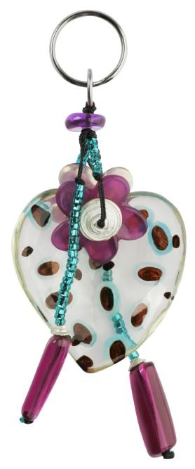Heart keyring from Lalo Treasures