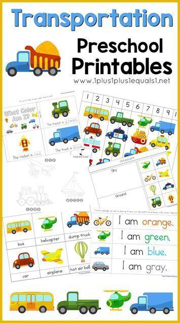 1000+ ideas about Transportation Theme Preschool on Pinterest ...