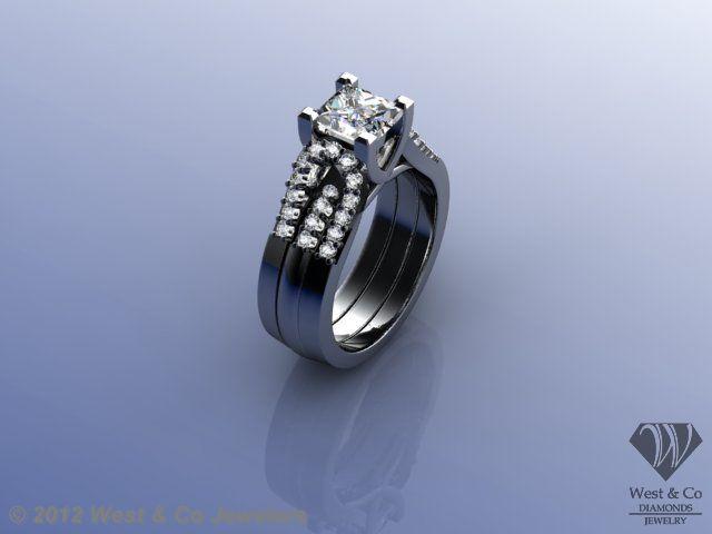 72 best Ring Ideas images on Pinterest | Wedding bands, Diamond ...