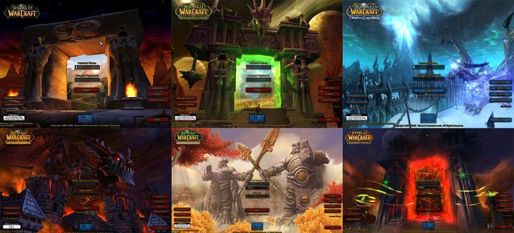 What is your favourite World of Warcraft Login Screen?
