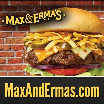 Come on in to Max & Erma's in Edinburgh, IN for award-winning burgers, locally brewed beer & more!