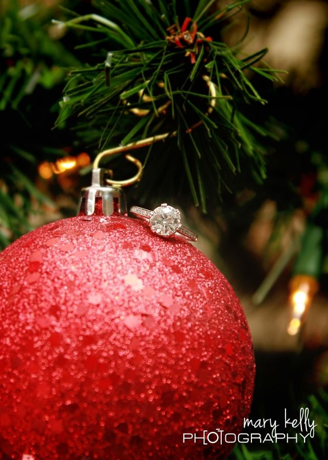 Two blinged-out ornaments: X-mas tree candy and bridal rock candy. Perfect for holiday engagement :-) www.diamonds.pro