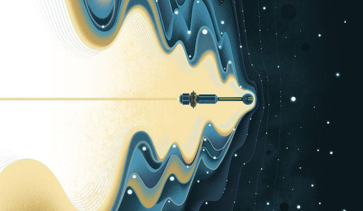 'The Universe Fabric' set de Sam Chivers para el Dia Mundial de la Ciencia para la Paz y el Desarrollo