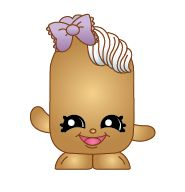 Twinky Winks (Shopkins 1-140) Twinky Winks is a golden Twinkie with a lavender bow atop her head. She is waving as creme is flowing out of her head. Twinky Winks is a Limited Edition Shopkin from Season One.