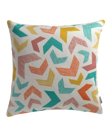 Chevrons Cushion Cover by #SianElin available at #ThePatternCollective