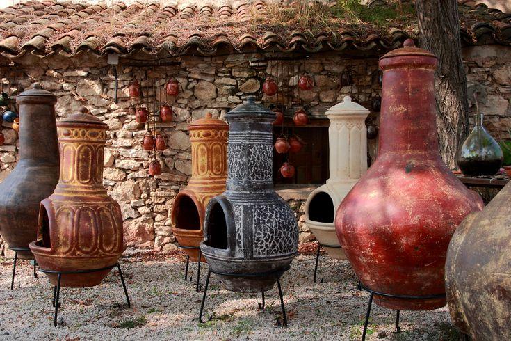 terres cuites | Brasero mexicain : un barbecue- cheminée d'extérieur pratique et ...