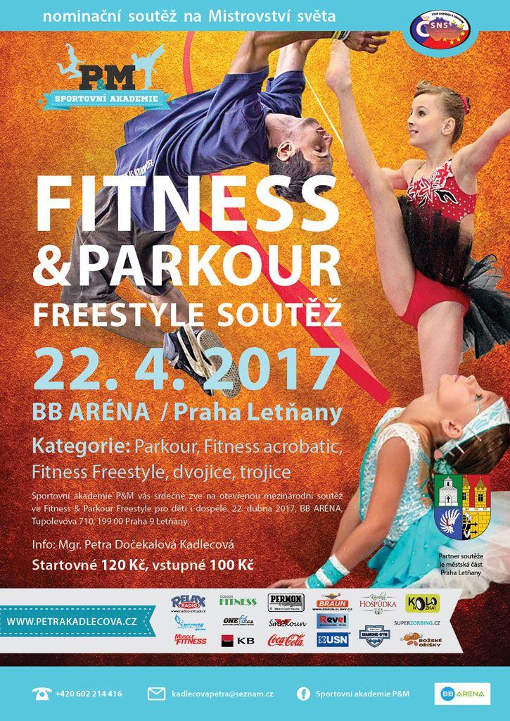 Fitness & Parkour Freestyle 22.4. v Praze