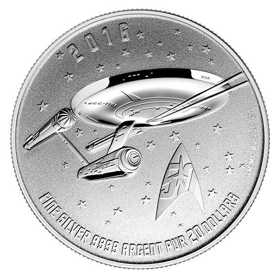 Canadian Money Boldly Goes Where No Currency Has Gone Before