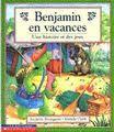 31997000916627 Benjamin en vacances. A la colonie de vacances, Benjamin écrit son journal. A ses souvenirs se greffent de nombreux jeux à réaliser dans l'album: mots-cachés, labyrinthes, grilles, etc. [SDM]