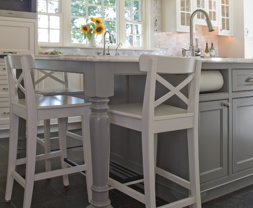 Traditional Farmhouse Remodel - traditional - kitchen - baltimore - by Patricia L. Caulfield, LLC