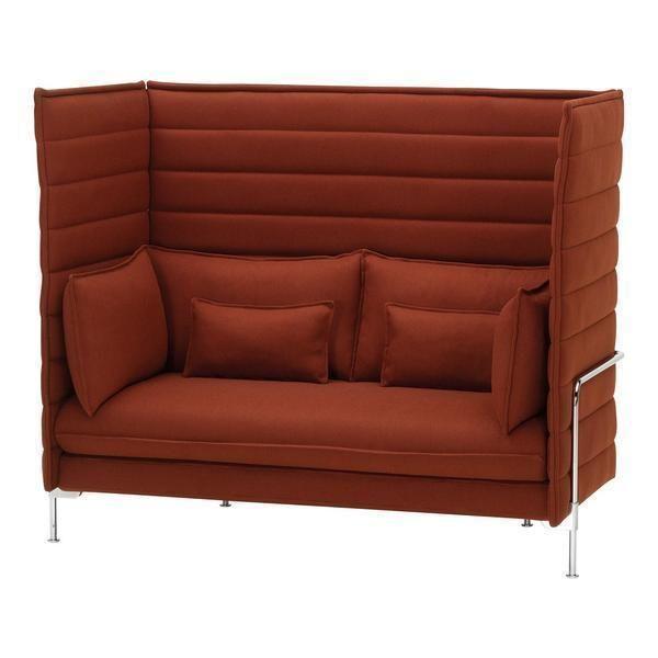 Alcove Highback Sofa Two Seater Sofa Seater Sofa Vitra Sofa