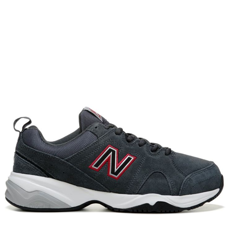 New Balance Men's 609 V3 Memory Sole X-Wide Sneakers (Grey/Red)