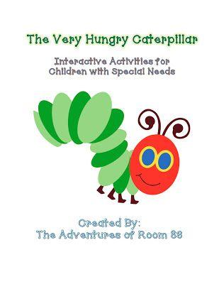 The Very Hungry Caterpillar Activities!