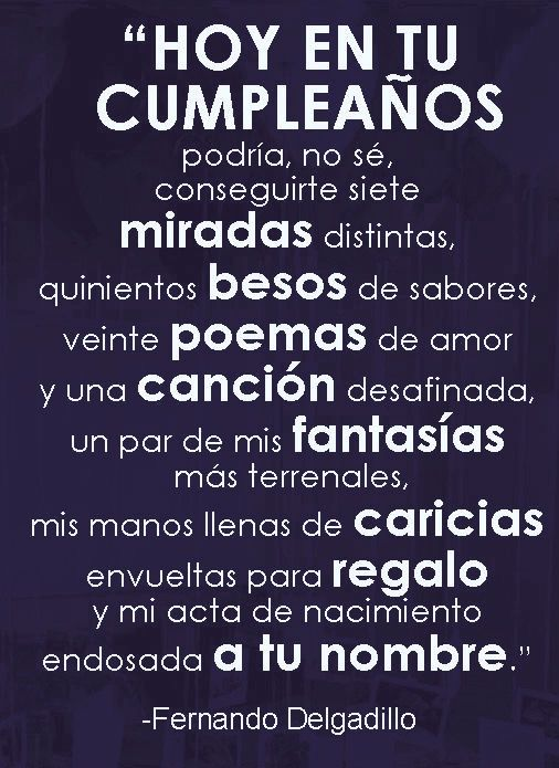 〽️ Hoy en tu Cumpleaños...