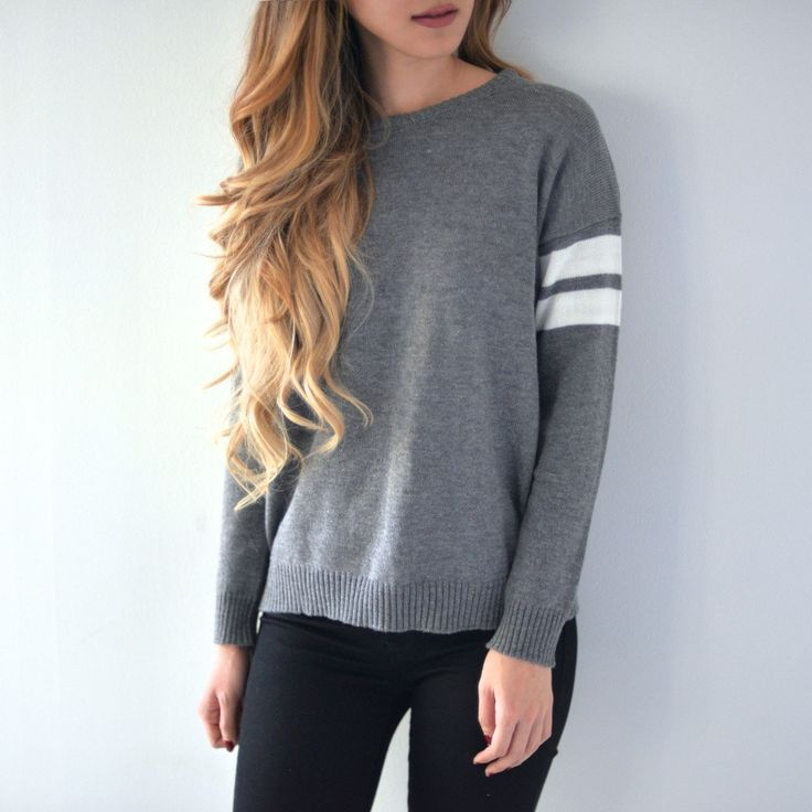 Our premium sweater made of thick, stretchy cotton and elastic. So soft, cozy and comfy! You can lounge around all day! One size fits S/M