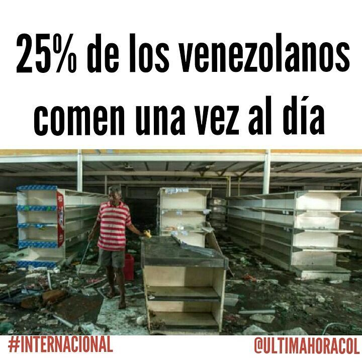 """(@ultimahoracol) Tras la difícil situación que vive Venezuela, apareció una estadística en los medios de…"""""""