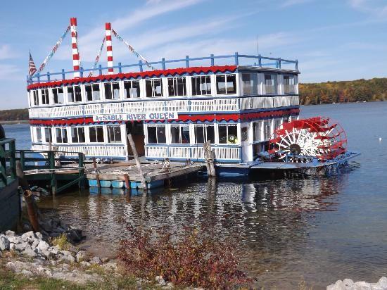 Oscoda, MI: AuSable River Queen #michigan
