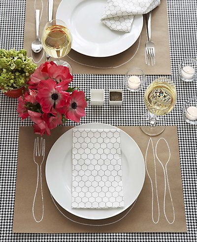 DIY: Easy and funny place mat