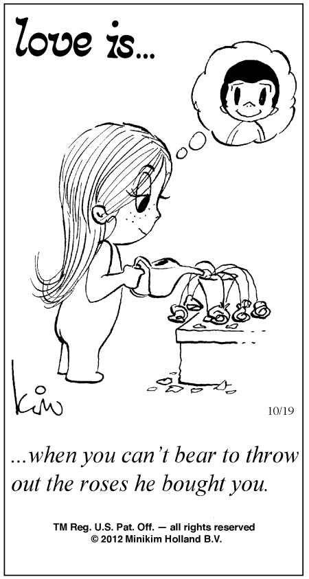 Love Is by Kim Casali Comic Archive Gallery | Love Is ... Comic Strip by Kim Casali (October 19, 2012)