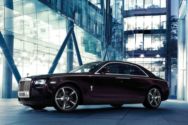 Rolls-Royce Ghost V-Specification this has always been one of my favorite cars from rolls Royce. :) I think that they always do a really good job with the quality of there cars and encouraging others to do the same. :)