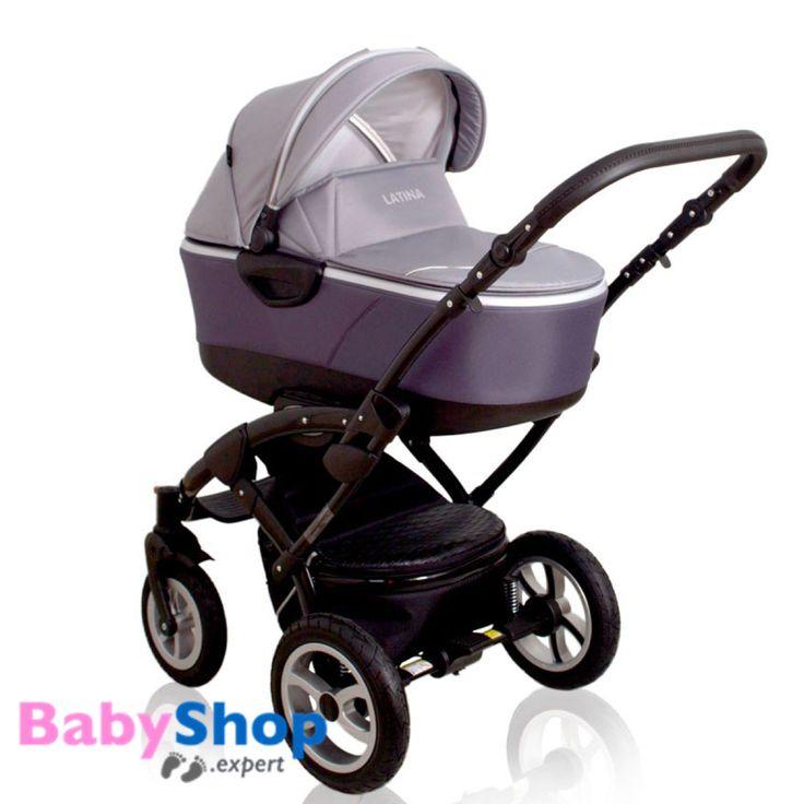 Kombikinderwagen 3in1 Latina kompakt mit Babyschale - grau  http://www.babyshop.expert/Kombikinderwagen-3in1-Latina-kompakt-mit-Babyschale_5  #babyshopexpert #kinderwagen #kombikinderwagen #babyschale #autositz