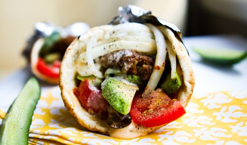 Food Truck Eats at Home - and Veggie Gyros! | Babble