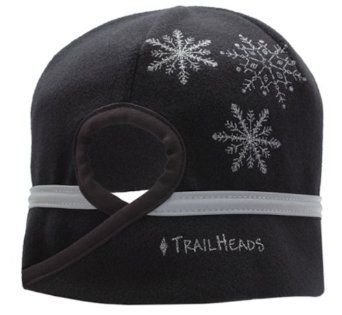 TrailHeads Goodbye Girl Snowflake Ponytail Hat