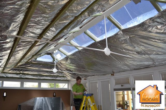 Conservatory Roof Insulation Systems for DIY Installation