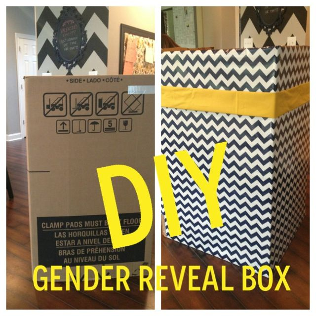 East Coast Creative How To Make A Gender Reveal Box That Has Style