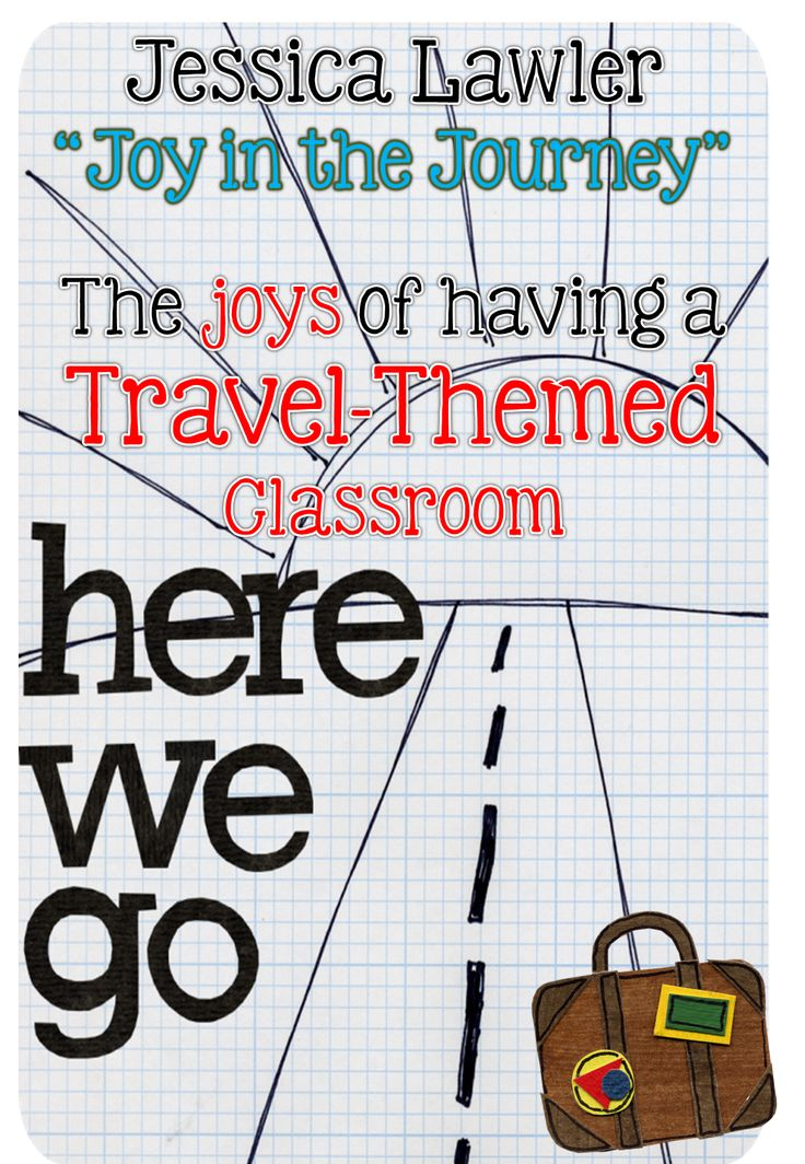~Joy in the Journey~: A Travel-Themed Classroom