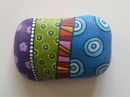 El arte de pintar piedras manualidades f ciles for Pintura para pintar piedras