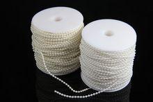 10 М Бежевый/Белый 3 ММ жемчужные бусы цветок гирлянда люстра нитей искусственный жемчуг для свадьбы украшения(China (Mainland))