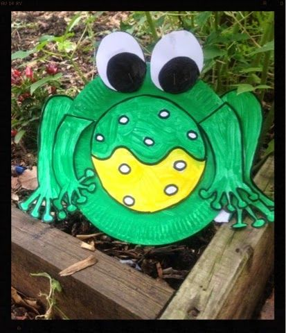 A Mish Mash of Arts Crafts and Play Activities. Paper Plate Frog by & 29 best Mish mash Let\u0027s Create with Paper Plates Crafts and ...