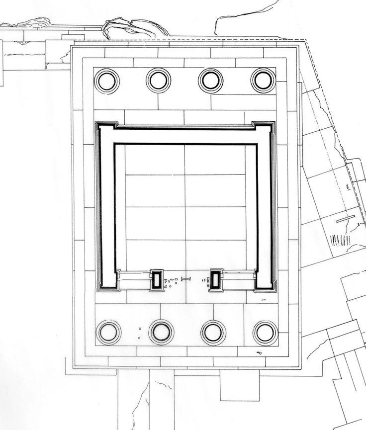 Templo de Atenea Nike (planta) | Calícrates | Arte griego, época clásica (s. V-IV a.C.)