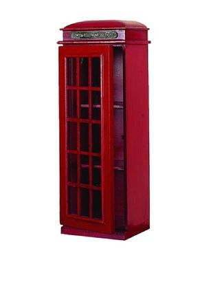 3-Tier London Phone Booth CD Holder