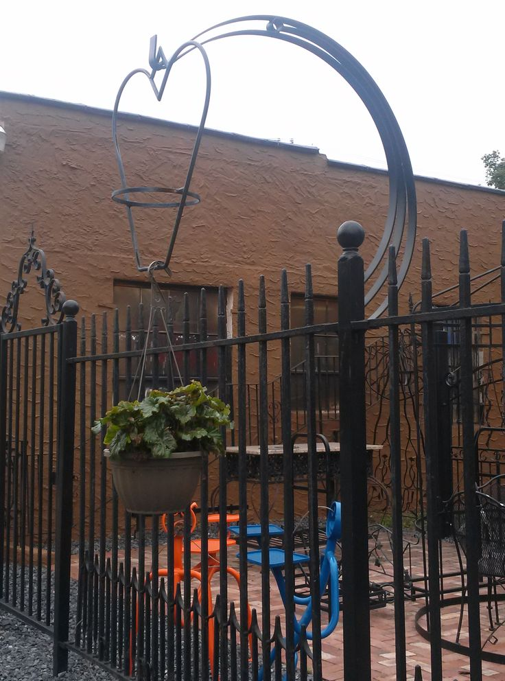 Plant Hangers Wrought Iron Railing Pinterest Wrought