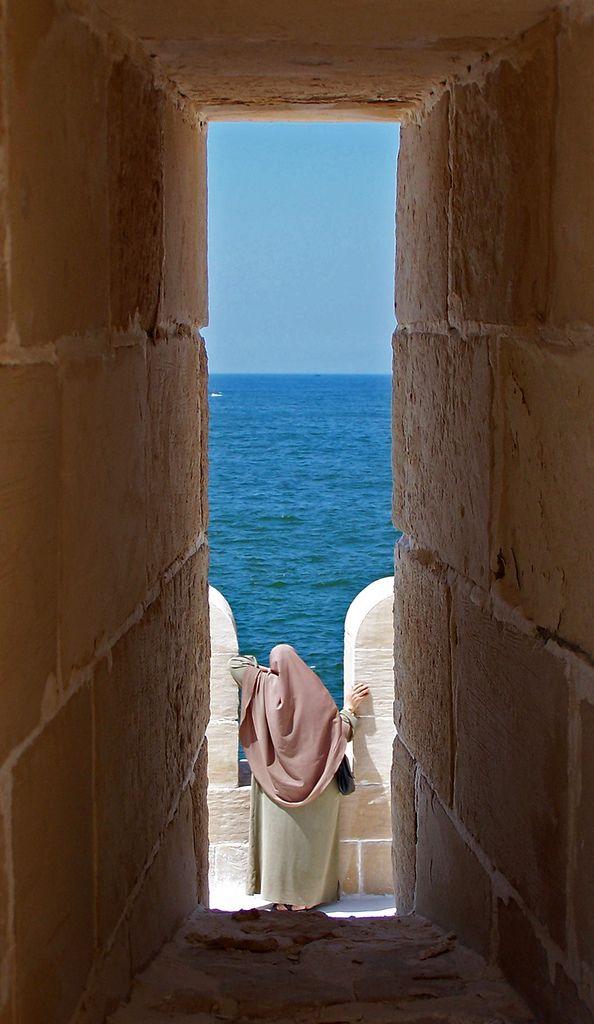 Citadel of Qaitbay, Alexandria, Egypt.