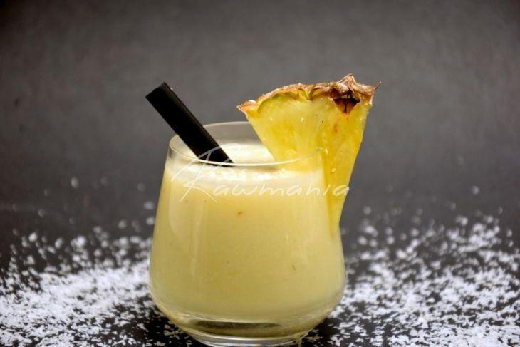 Výborná Pina Colada s čerstvým kokosovým mlékem! :-)