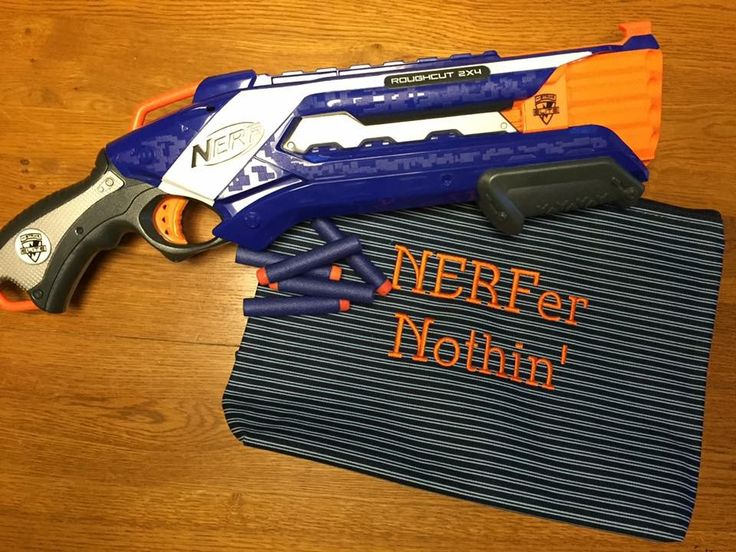 Keep Nerf Darts in a Zipper Pouch to stay organized.