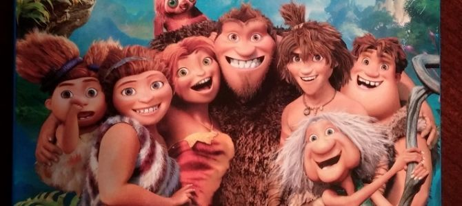 The Croods! Good family entertainment.