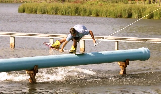 TUBULAR by Andrew Adams (Shredtown)  Riders : Chris Abadie, Andrew Adams, Dylan Miller, Davis Griffin  #shred #wakeboard